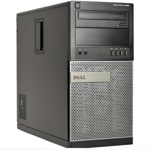 Komputer Dell 9020 Tower i5 8GB 512 SSD +500 HDD RW Windows 7 Pro