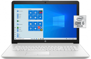 Laptop HP 17' i5-10gen 8GB 1TB Full HD IPS KAM RW Win10
