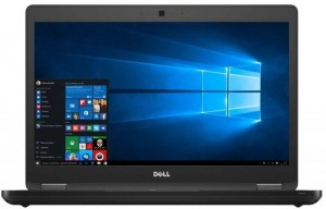 "Laptop DELL 5480 i5 7Gen 16GB 256GB SSD 14"" HD KAM Win10 Pro"