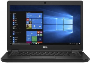 LAPTOP DELL 5480 i7-7820HQ 16GB NVIDIA 256 SSD NVMe W10