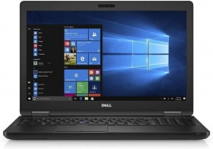 "Laptop Dell 5580 i5 HQ 8GB 256GB SSD 15,6"" Full HD IPS GeForce 940MX KAM W10"