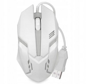 Mysz Logitech Gamingowa White 3D Optical 1600 dpi