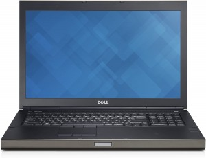 Laptop Dell Precision M6800 i7 Quad 32GB 500/1TB SSD 17,3'' FHD IPS Quadro K5100M KAM Win10 Pro