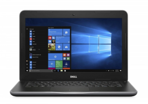 "Laptop Dell 3380 i3 6Gen 8GB 256GB SSD 13,3"" HD KAM Win10"