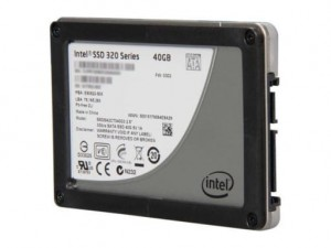 Dysk SSD SATA 2,5'' INTEL 320 Series 40GB