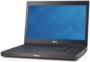 Laptop Dell M4700 i7-3740QM 8GB 240GB SSD 1920x1080 RW BT