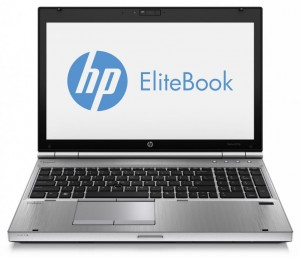 Laptop HP 8570p i7-3740QM 8GB 240GB SSD RW WIFI BT W7
