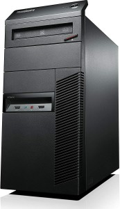 Komputer Lenovo M92p Tower i5-3470 8GB 240 SSD RW Win7 PRO