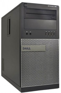 Komputer Stacjonarny Dell 790 Tower i5-2400 8GB 240 SSD + 500 HDD W7