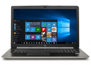 Laptop HP 17t i7-8550U 8GB 256 SSD FHD IPS UHD 620 W10