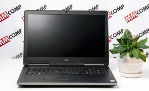 Laptop DELL 7710 i7 HQ 64GB 2TB SSD IPS QUADRO M3000M 4GB