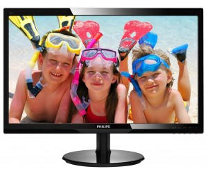 "PHILIPS Monitor Philips 24"" 246V5LDSB/00 VGA DVI HDMI"